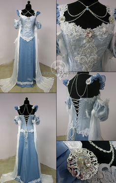 Frost Gown-need this for the next renessaince fair I go to!