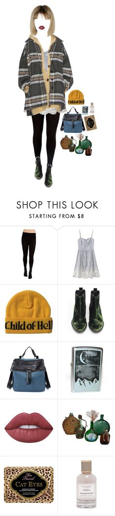 """significant part of my life"" by vampirliebling ❤ liked on Polyvore featuring Plush, Miista, Market, Lime Crime, Too Faced Cosmetics and Henri Bendel"