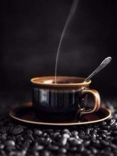 Cafe Barista, Coffee Time, Incense, Beverages, Tableware, Food, Dark, Drinks, Dinnerware