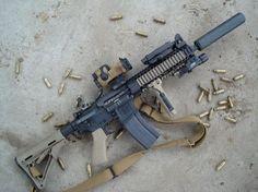 """LWRC M6A2 (10.5"""" barrel) in 6.8mm"""