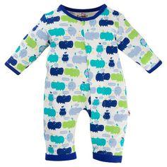 E=MC2 Baby Union Bodysuit - Blue