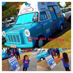 I wanna eat icecream  She said.But daddy said No .Oh dear Reyna ;( #currumbinbeach#icecreamcar #socute#GoldCoast#Australia by micacharin http://ift.tt/1X9mXhV