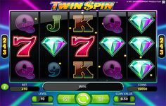SLOTMACHINE TWIN SPIN IS A RETRO SLOT MACHINE THAT GIVES YOU 243 WAYS TO WIN PLUS WILD SYMBOL TWIN REEL SPINNING FEATURE! #casino #games #players #onlinecasino #gambling #chips #poker