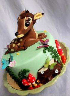 Bambi - Cake by Kateřina Lončáková