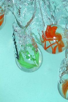 Marbles in water   by kampang