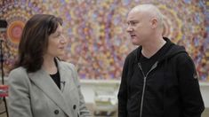 Damien Hirst Walkthrough with Ann Gallagher and Damien Hirst. A really interesting walkthrough. He may be controversial but this was an extremely intriguing 12 minutes of my life.