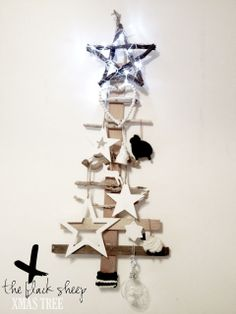 Wooden Xmas Tree by Méchant Design ♥