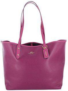 Coach City Tote Women's Crossgrain Leather Handbag