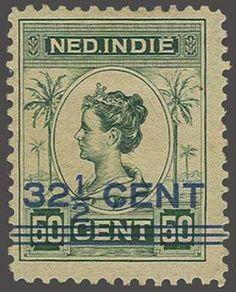Netherlands Indies Hulpuitgifte 32½ op 50 cent type I tanding 11 x 11½, pracht ex. (gomzijde miniem getint en gomloos plekje) met certificaat NVPH 1992, cat.w....