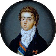 Príncipe D. Pedro Jean Phillipe Goulu Rio de Janeiro, Brasil, 1817 Palácio Nacional de Queluz