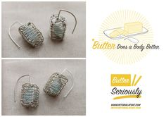 "Win these beautiful earrings by @Kathy Frey  and a fun butter t-shirt by @Victoria LaFont as part of the ""The Real"" giveaway on the Outside Inn's blog, http://outsideinn.com/blog/the-real-at-off-center-stage.htm/"