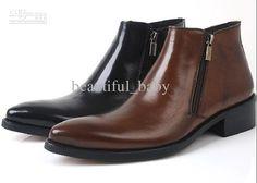 Cheap Men Boots - Best Winter High Top Shoes Men S Shoes Zipper Online with $110.12/Piece | DHgate