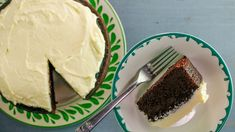 Clodagh Mckenna's Chocolate Guinness cake w/vanilla cream cheese frosting. Saw this on Rachel Ray looks good & she the chef raved it's the best cake she ever tasted!
