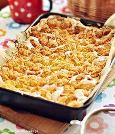 Polish Recipes, Polish Food, Rhubarb Recipes, Dessert Recipes, Desserts, Macaroni And Cheese, Sweet Tooth, Sweets, Cookies