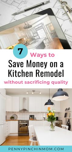 Learn how to remodel your kitchen on a budget the smart way. #KitchenRemodel #BudgetRemodel