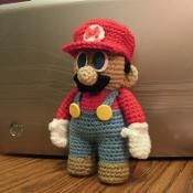 Mario Doll Pattern
