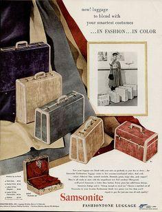 1949 Samsonite Luggage by cemetarian, via Flickr
