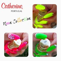 PRESS SAMPLE The Catherine Neon collection is Called Pop Art Collection as is composed by 3 neon shades. Sun (yellow) , Joy (pink) and. Nail Polish Brands, Swatch, Pop Art, Joy, Nails, Pink, Collection, Finger Nails, Ongles