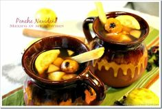 Mexico in my Kitchen: Mexican Christmas Punch / Ponche Navideño Mexicano Authentic Mexican Recipes, Mexican Food Recipes, Mexican Drinks, Mexican Dishes, Mexican Menu, Mexican Christmas Food, Christmas Recipes, Christmas Foods, Thanksgiving Recipes