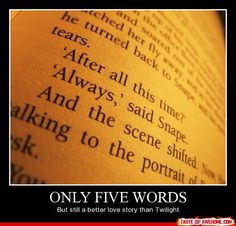 only five words