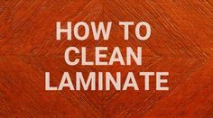 Learn how to clean laminate floors the best way and how to make our homemade laminate floor cleaner. No more streaks or sticky residue with this solution! House Cleaning Tips, Diy Cleaning Products, Cleaning Solutions, Cleaning Hacks, Cleaning Recipes, Homemade Laminate Floor Cleaner, How To Clean Laminate Flooring, Wood Flooring, Bathroom Flooring
