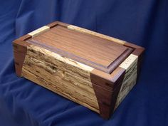 Blue Sky Crafts - Mixed Wood Keepsake Box