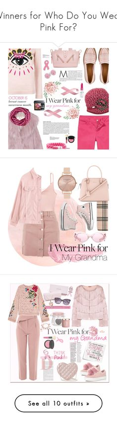 """Winners for Who Do You Wear Pink For?"" by polyvore ❤ liked on Polyvore featuring Kenzo, Miu Miu, Betmar, Bling Jewelry, Rastaclat, Missoni, Christian Dior, Rodin, Bobbi Brown Cosmetics and contestentry"