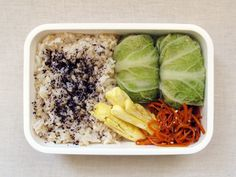 (Napa cabbage and pork rolls, carrot kinpira, folded egg, rice with shiso furikake) Blast from the past! It has been over two years since my last bento, and so much has changed since then. As last...