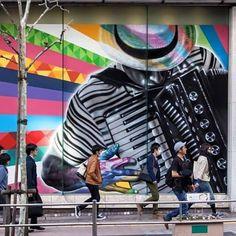 Banksy Graffiti Street Art conjunto de montaña rusa