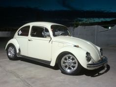 vw beetle, cal style | Image may have been reduced in size. Click image to view fullscreen.