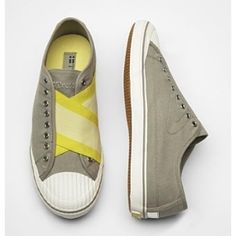 yellow/gray shoes by jayfly