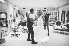 Wedding morning preparations are always great fun and many of our couples love availing of Pat O'Neill's Style Suite which is located at the Brehon Hotel. It provides incredible photo opportunities such as this one captured by Emily Doran Wedding Morning, Real Weddings, The Incredibles, Couples, Fun, Style, Morning Of Wedding, Swag, Couple