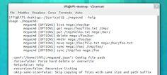 megacmd operare su MEGA da riga di comando in Linux, Windows e Mac  #mega #software #linux #windows #mac