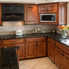 paint colors for kitchens with dark cabinets | dark cabinet