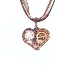 Mechanical HeartSteampunk Pendant by MelsMakeBelieve on Etsy, $30.55