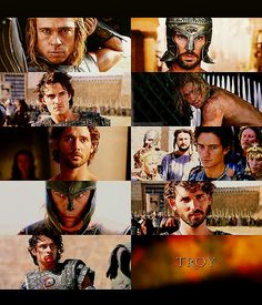 scenes from Troy