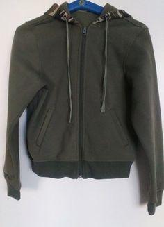 Kupuj mé předměty na #vinted http://www.vinted.cz/damske-obleceni/mikiny/14769361-army-tmave-zelena-mikina-s-maskacovou-kapuci-xs-s