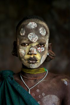 Africa | Suri child. Omo Valley, Ethiopia | ©Steve McCurry