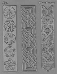 Lisa Pavelka - Set de 2 tampons texture - Cultural
