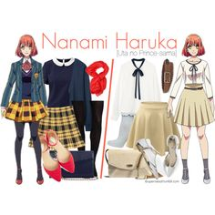 Casual cosplay of Haruka Nanami (from Uta no Prince-Sama anime series)-- character inspired outfit Anime Inspired Outfits, Disney Inspired Fashion, Character Inspired Outfits, Disney Fashion, Nerd Outfits, Disney Bound Outfits, Cool Outfits, Casual Cosplay, Cosplay Outfits
