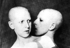 "Claude Cahun is a female artist who was apart of the Surrealist movement and created what is for the most part to be considered ""feminist"" artwork. In this particular piece she attempted to de-gender the human image. I thought this could closely connect to our recent discussions in class about Feminist artists."