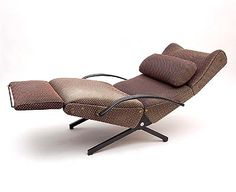 Lounge-Chair design Osvaldo Borsani 1954 executed by Tecno Milan / Italy Master Bedroom Makeover, Mid Century Chair, Bedroom Chair, High Chairs, Lounge Chairs, Metal Chairs, Unique Furniture, Armchair, Recliners