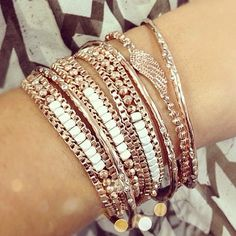 Bracelets Rose Gold by Stella & Dot