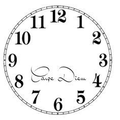 square clock face template - Google Search   My bed and ...