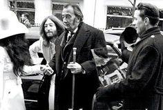 John Lennon, Salvador Dali and Yoko Ono.