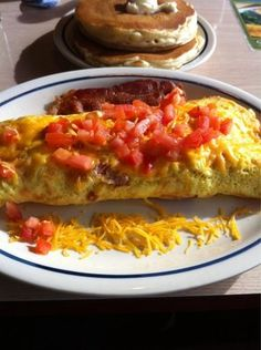 International House of Pancakes Copycat Recipes: Bacon Temptation Omelet