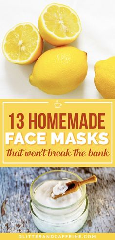 These homemade face masks are inexpensive DIYs and they are as good as store-bought Make your skin look bomb at home with these easy recipes homemade face masks DIY face mask DIY beauty homemadefacemasks diyfacemasks diybeauty Homemade Facial Mask, Face Scrub Homemade, Homemade Facials, Easy Homemade Face Masks, Homemade Beauty, At Home Face Mask, Easy Face Masks, Best Diy Face Mask, Kaya