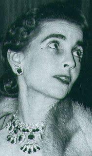 Tiara Mania: Ruby Necklace Tiara worn by Barbara Hutton