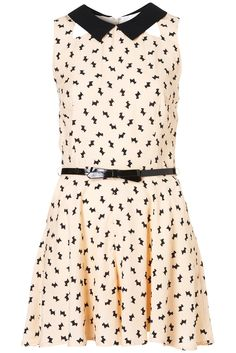 Dog Print Playsuit - Rompers - Apparel - Topshop USA