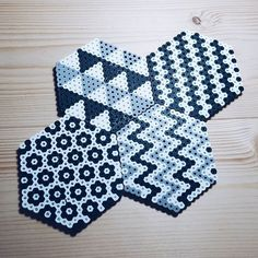 Coasters perler beads by hyunjublue More